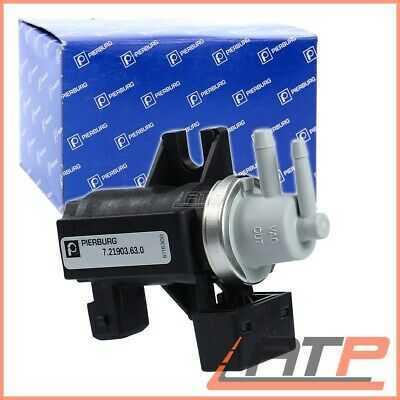1X PIERBURG TURBOCHARGER PRESSURE CONVERTER VOLVO S60 MK 1 2.4 D D5 01-10