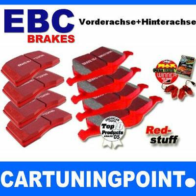 EBC Brake Pads Front+Rear Redstuff For Volvo 960 965 DP31095C DP31043C