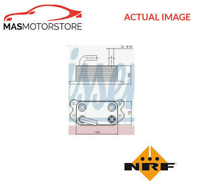 ENGINE OIL COOLER NRF 31296 G NEW OE REPLACEMENT